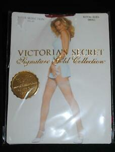 Victoria Secret Signature Gold Collection Sheer Seductions Royal Ruby Red Size S