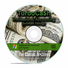 Professional Home and Business Accounting Finance Software, TurboCash CD F21