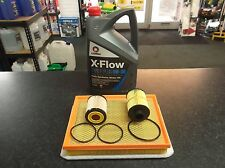 VAUXHALL ASTRA MK5 1.9 CDTI SERVICE KIT OIL AIR FUEL FILTERS 5 LITRES OIL XFLOW