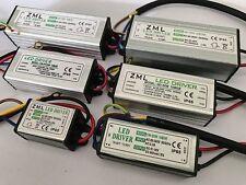 10W~100W 1-5paquet Transformateur de pilote imperméable IP65 LED Driver SMD DIY