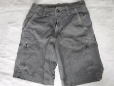 American Eagle Gray Cargo Side Zipper Shorts size 26 Mens