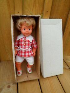 POUPEE MICHEL blond DE MODES ET TRAVAUX en boite d origine