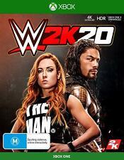 WWE 2K20 XBOX One Wrestling Sports Game Microsoft XB1 S X