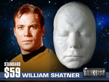 NEW WILLIAM SHATNER LIFE-SIZE Life Cast Life Mask in Lightweight Resin