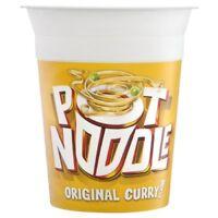 Pot Noodle Original Curry Flavour 90G Pack of 12