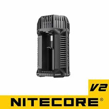 NITECORE V2 6A In-Car Fast Battery Charger 18650 16340 14500 26650