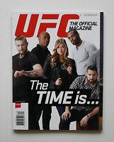 UFC MAGAZINE MMA CONOR McGREGOR ANDERSON SILVA VITOR BELFORT NICK DIAZ JON JONES