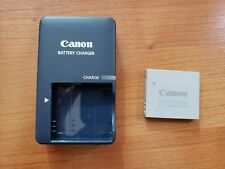 Used Canon CB-2LV battery charger with NB-4L battery, tested working