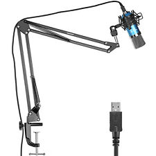 Neewer NW-7000 USB Pro Studio Condenser Microphone and Arm Stand Shock Mount