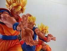Dragonball Kai Goku Gohan & Goten Triple Kamehameha Resin Statue Diorama DJCA