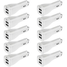 10x OEM Dual USB Car Charger Adaptive Fast Rapid For Samsung Galaxy Note 8 S8 S9