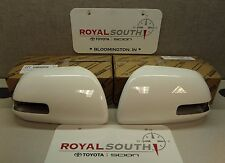 Toyota Tacoma 2012 - 2015 Super White 040 Outer Mirror Covers Set Genuine OEM OE