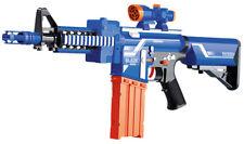 Boys Combat Army Kids Blaze Storm M4 Assault Rifle Play Toy Gun + 20 Soft Darts