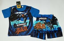 BNWT Batman boys Pyjamas cotton tshirt top pajamas new kids sleepwear size 4