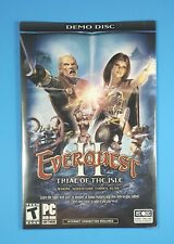 Everquest Ii Trial of the Isle Pc Dvd Rom Demo Disc Sony 2004 New Sealed!
