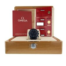 Omega Speedmaster Moonwatch Co Axial Chronograph Blue Watch 304.93.44.52.03.001