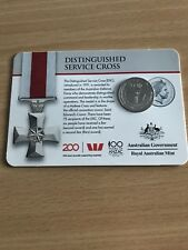 2017 Legends of Anzacs Medal Collection - Distinguished Cross 20 Cents COIN 4