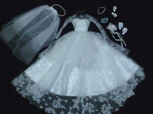 Barbie 2009 Repro / Reproduction Wedding Day Complete Fashion ~ Newly Unboxed