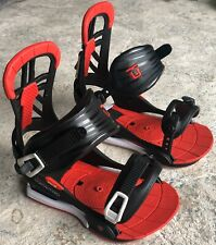 Union Contact Pro Snowboard Bindings Large / Xl - Black / Red / White