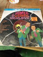 Homer and Jethro Strike Back Vinyl LP 1962 VG