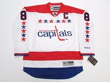 ALEX OVECHKIN WASHINGTON CAPITALS WHITE THIRD REEBOK PREMIER HOCKEY JERSEY 07451994cf52