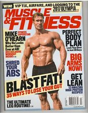 MUSCLE & FITNESS bodybuilding magazine MIKE O'HEARN with poster 4-17
