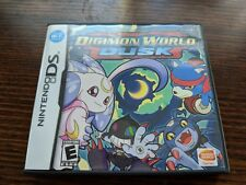 Digimon World Dusk (Nintendo DS) Complete Rare 3DS DSi 2DS Genuine NTSC