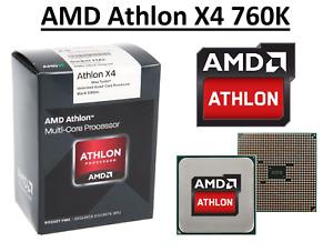 AMD Athlon X4 760K Quad Core Processor 3.8 - 4.1 GHz, Socket FM2, 100W CPU