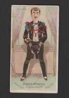 1888 Allen & Ginter World's Dudes N31 COTILLION