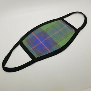Clan Armstrong Tartan Face Mask Scottish Family Plaid Covering Faded Mask