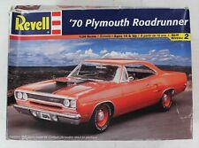 Revell 1970 '70 Plymouth Roadrunner 1/25 Scale Model Kit 85-2980