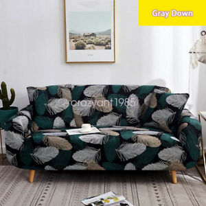 Soft 1/2/3/4 Seaters Sofa Covers Protector Slipcover Living Room Decoration