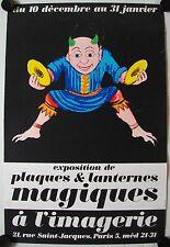 Affiche LANTERNES MAGIQUES - Exposition L'Imagerie Paris