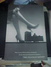 THE CHAPMAN REPORT, orig uncut 24pg prbk [Shelley Winters, Jane Fonda]