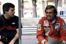 Carlos Reutemann & Alan Jones Williams F1 Monaco Grand Prix 1981 Photograph 1
