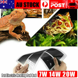 Pet Electric Heating Pad Bed Reptile Heating Blanket Temperature Control NEW