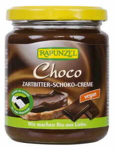 CHOCOLATE CREAM BIO 250 g - RAPUNZEL