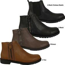 Zip Ankle 100% Leather Unbranded Shoes for Women
