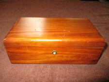Vintage Lane Small Wood Cedar Chest Salesman Sample Finleyville Furniture Pa.