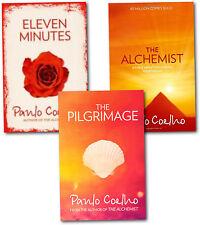 Paulo Coelho Collection 3 Books Set The Alchemist, The Pilgrimage, Eleven minute
