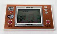 Vintage 1985 Nintendo Game & Watch Tropical Fish Handheld Tested & Working