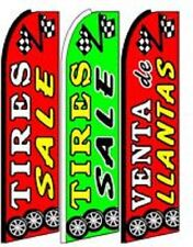 Tires Sale King Size  Swooper Flag pk of 3 Combo