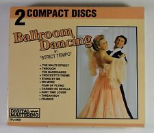 Ballroom Dancing in Strict Tempo on CD - 2 Disc Set Waltz Fox Trot Cha-Cha Rumba