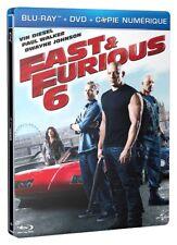FAST & FURIOUS 6 Blu ray Steelbook - 2 Disc set ( NEW )