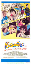 16 CANDLES MOVIE POSTER Original Australian Daybill 13x27 Size MOLLY RINGWALD