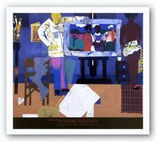Profile/Part II The Thirties Artist With Painting and Model Romare Bearden 23x29