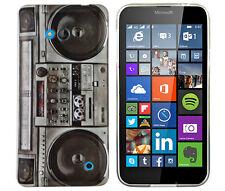 Housse pour Nokia Lumia 640 dual-sim Housse de protection sac Case GHETTOBLASTER radio