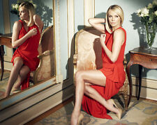 Charlize Theron Sexy Red Dress Mirror 10x8 Photo