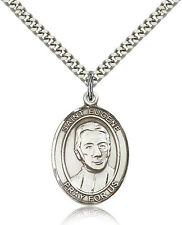 "Saint Eugene De Mazenod Medal For Men - .925 Sterling Silver Necklace On 24"" ..."
