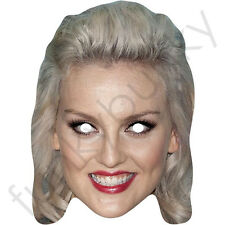 Little Mix Perrie Edwards Singer Card Mask - All Our Masks Are Pre-Cut!